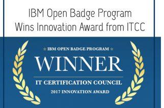 IBM et Acclaim gagnent le prix Innovation 2017 de ITCC pour leur programme de badges numériques