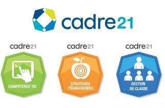 CADRE 21 – Développement professionnel des enseignants avec des badges numériques
