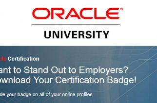 Oracle et les badges numériques pour la certification des compétences des employés en TI
