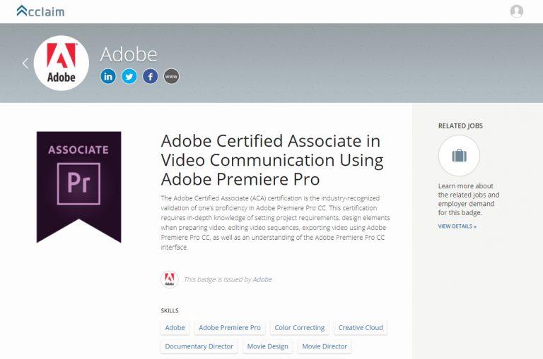 Summary Aca Certify Adobe Certified Associate Certification