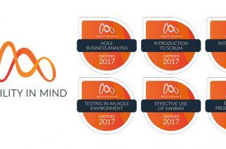 Formation méthode agile pour entreprise avec certification par badges numériques