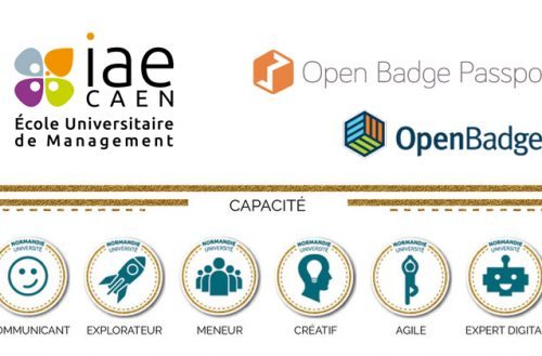 Université Caen Normandie : Les badges numériques, outils d'implication et de valorisation des compétences