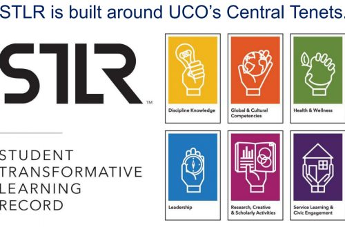 University of Central Oklahoma : Student Transformative Learning Record (STLR) et badges numériques