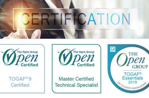 Open Group : Certification TOGAF avec des badges numériques