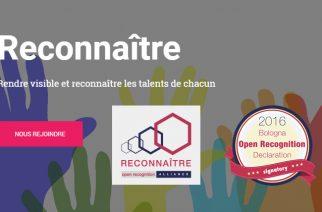 Lancement de l'association Reconnaître – Open Recognition Alliance – Webinaire 25 juin 2018