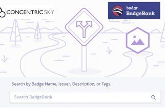 BadgeRank : nouveau moteur de recherche des badges numériques