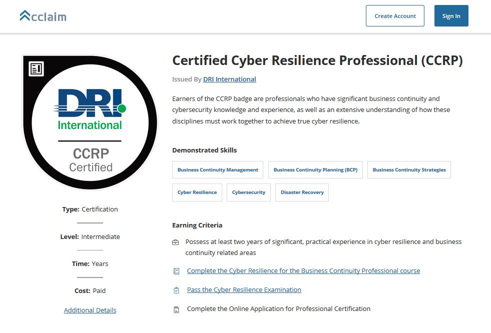 10 exemples de certifications en sécurité informatique