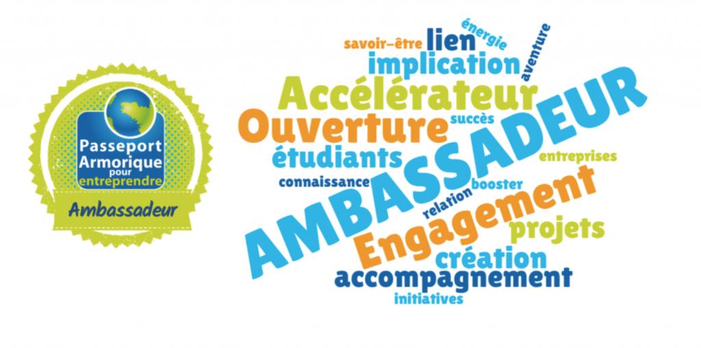 Open digital Badges numériques, passeport Armorique, entrepreneuriat étudiant ambassadeur