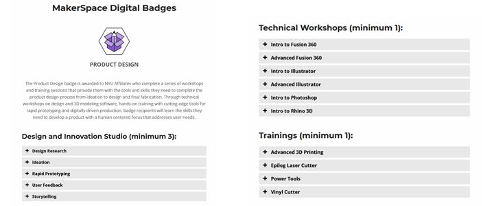 open badges digital credentials makerspaces unsw